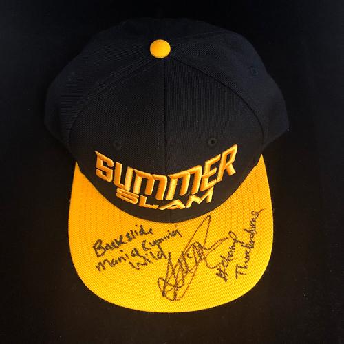 Drew McIntyre SIGNED SummerSlam Winners Series Hat