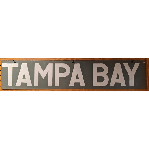Photo of Tampa Bay Rays Fenway Park Out of Town Scoreboard Sign