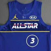 Bradley Beal - Game-Worn  2021 NBA All-Star Jersey - 1st Half - Scored Team-High 26 Points