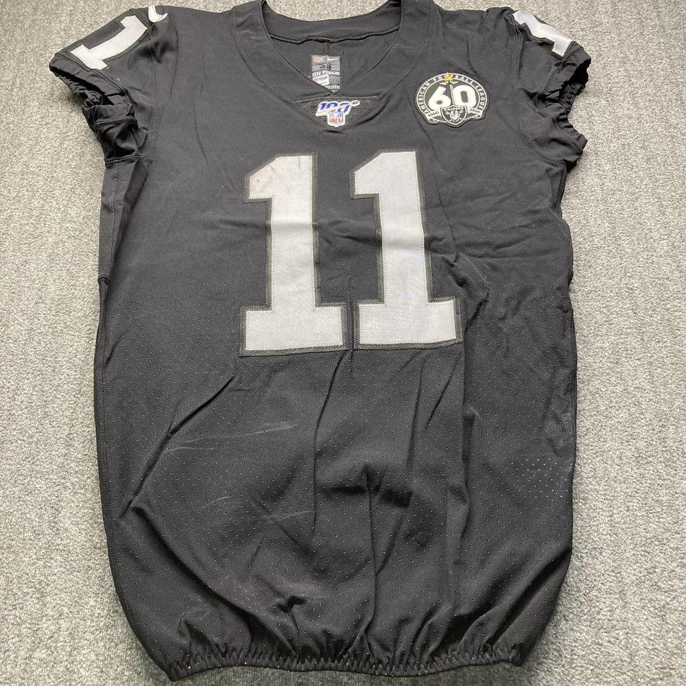 London Games - Raiders Trevor Davis Game Used Jersey (11/24/19) Size 42
