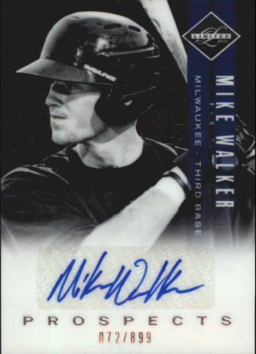 Photo of 2011 Limited Prospects Signatures #36 Mike Walker/899