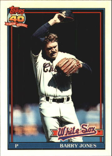 Photo of 1991 Topps Tiffany #33 Barry Jones