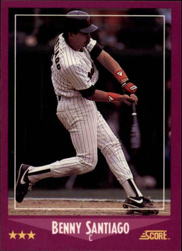 Photo of 1988 Score Glossy #25 Benito Santiago