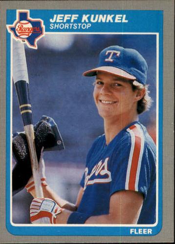 Photo of 1985 Fleer #561 Jeff Kunkel