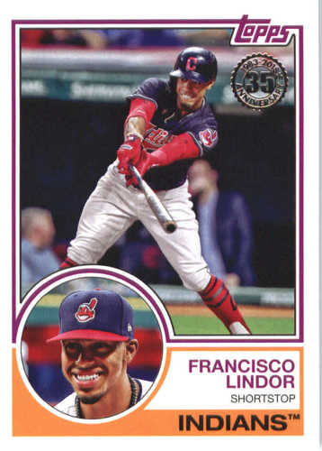 Photo of 2018 Topps '83 Topps #8395 Francisco Lindor