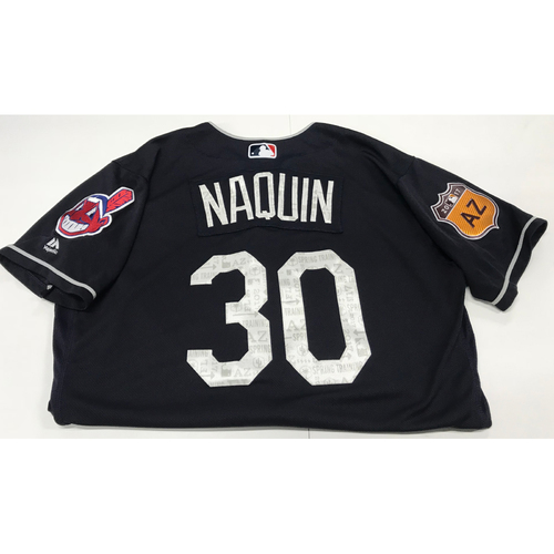 Photo of Tyler Naquin 2017 Spring Training Jersey