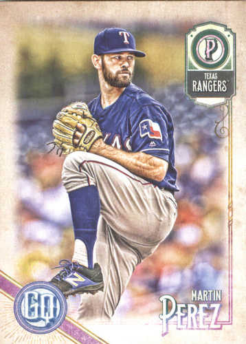 Photo of 2018 Topps Gypsy Queen #32 Martin Perez UER/Nick Martinez Pictured