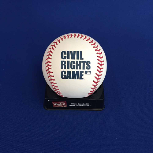 Photo of UMPS CARE AUCTION: Civil Rights Game Commemorative Baseball
