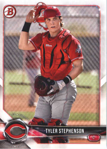 Photo of 2018 Bowman Prospects #BP133 Tyler Stephenson