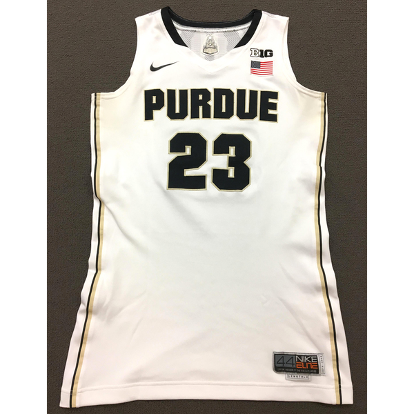 Photo of Clemons #23 Purdue Women's Basketball 2014-15 White Jersey