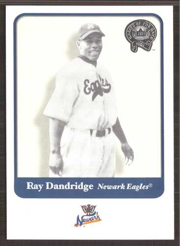 Photo of 2001 Greats of the Game #51 Ray Dandridge-- Hall of Fame Class of 1987