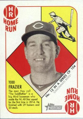 Photo of 2015 Topps Heritage '51 Collection #12 Todd Frazier