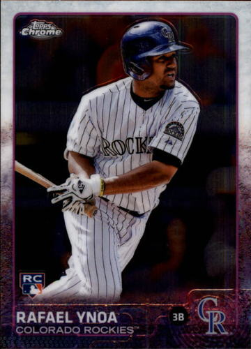 Photo of 2015 Topps Chrome #108 Rafael Ynoa RC