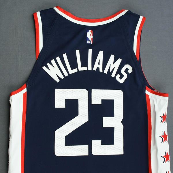 03f7bdaf0dc Lou Williams - Los Angeles Clippers - Game-Worn City Edition Jersey ...
