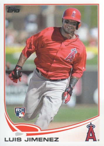 Photo of 2013 Topps #464 Luis Jimenez RC