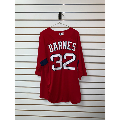 Photo of Matt Barnes Team Issued Home Batting Practice Jersey
