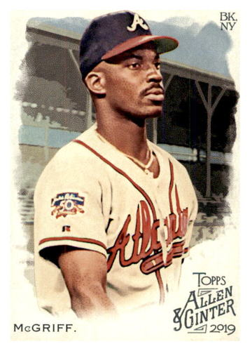 Photo of 2019 Topps Allen and Ginter #273 Fred McGriff