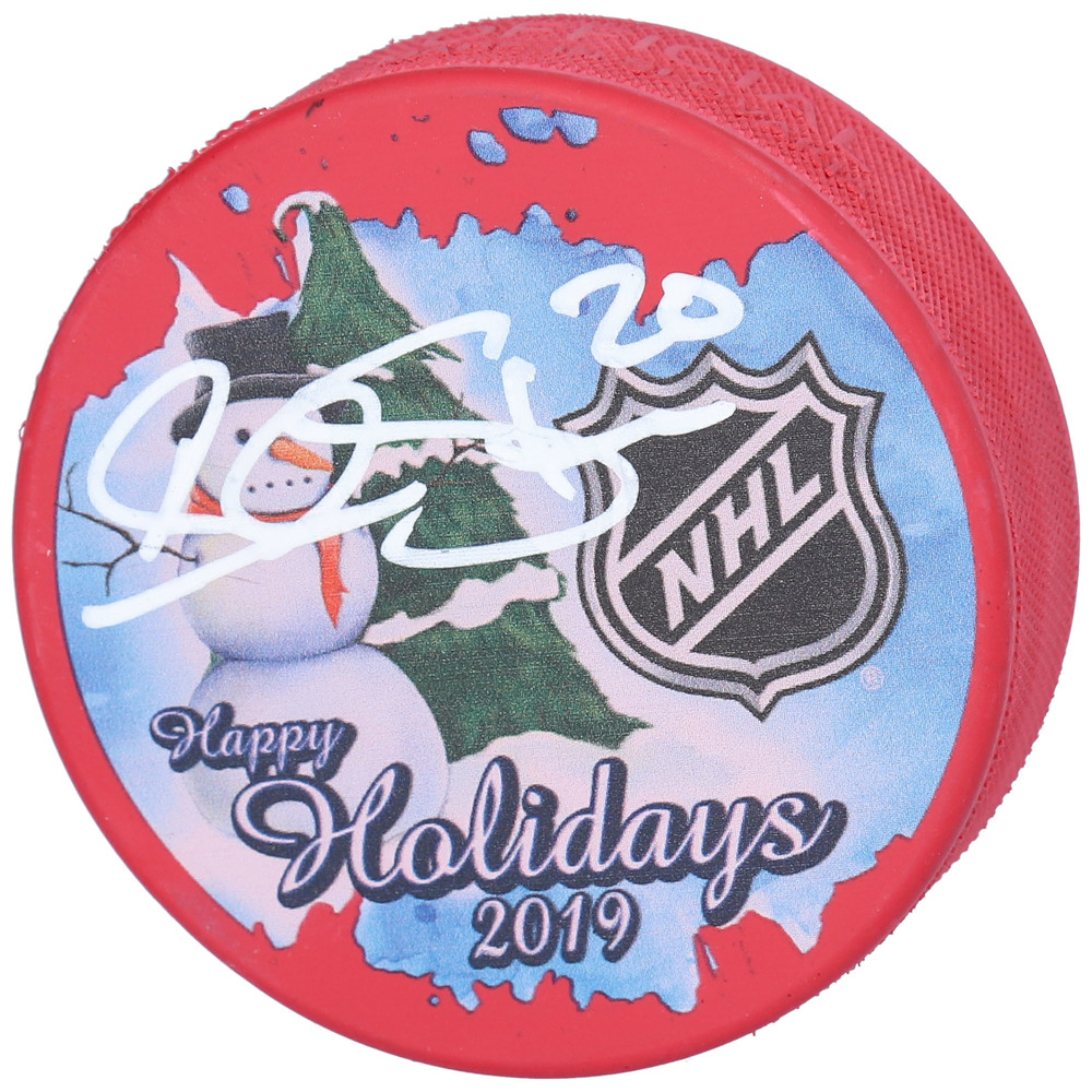 Alexander Steen St. Louis Blues Autographed Inglasco 2019 Happy Holidays Hockey Puck - NHL Auctions Exclusive