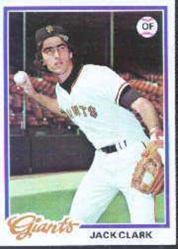 Photo of 1978 Topps #384 Jack Clark