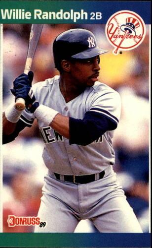 Photo of 1989 Donruss #395 Willie Randolph