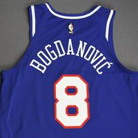Bogdan Bogdanovic - Sacramento Kings - Game-Worn Classic Edition 1990-94 Road Jersey - 1 of 2 - 2019-20 NBA Season