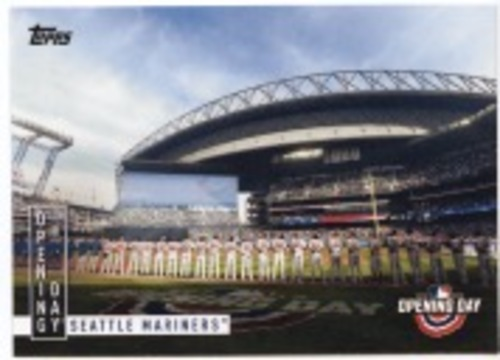 Photo of 2020 Topps Opening Day Opening Day #OD11 Seattle Mariners