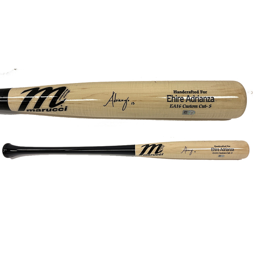 Photo of Minnesota Twins Autographed Bat - Ehire Adrianza