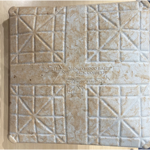Photo of 2021 Game-Used Base - Cubs at Indians - 1st Base - 5/11 and 5/12