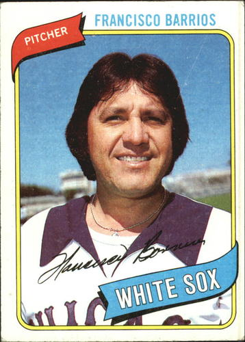 Photo of 1980 Topps #107 Francisco Barrios