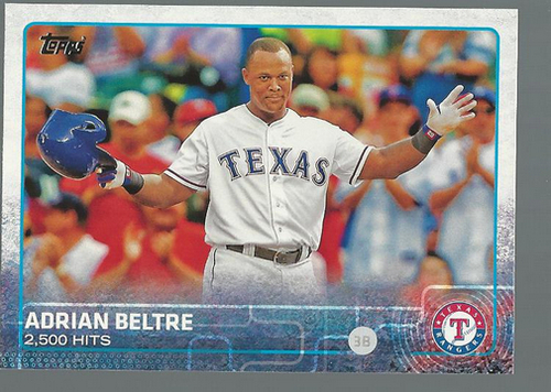 Photo of 2015 Topps #71 Adrian Beltre BH