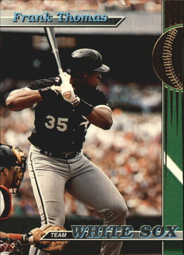 Photo of 1993 White Sox Stadium Club #1 Frank Thomas