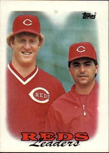 Photo of 1988 Topps #81 Ron Robinson/John Franco TL
