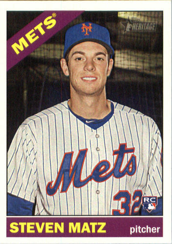 Photo of 2015 Topps Heritage #630 Steven Matz  Rookie Card