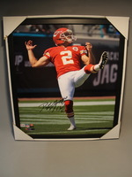 CHIEFS - DUSTIN COLQUITT SIGNED 16X20 GLOSSY PHOTO
