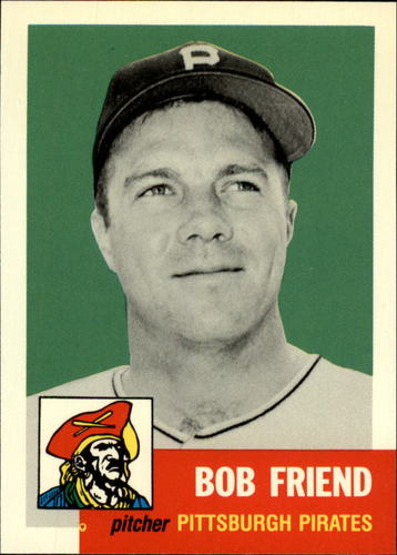 Photo of 1991 Topps Archives 1953 #298 Bob Friend