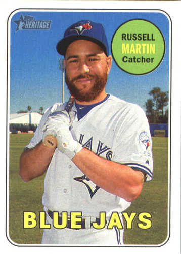 Photo of 2018 Topps Heritage #277 Russell Martin