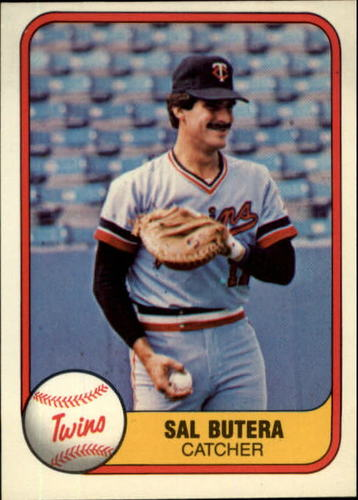 Photo of 1981 Fleer #570 Sal Butera RC