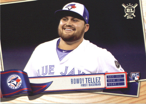 Photo of 2019 Topps Big League #222 Rowdy Tellez RC