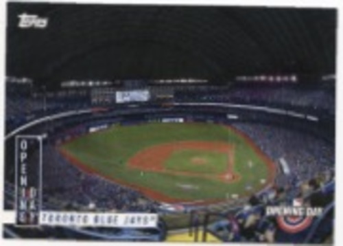 Photo of 2020 Topps Opening Day Opening Day #OD14 Toronto Blue Jays