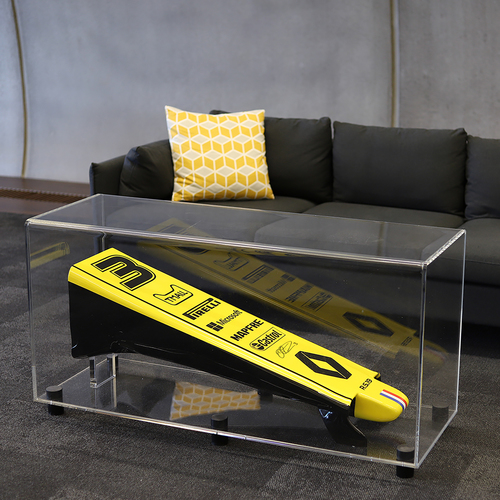 Photo of Daniel Ricciardo 2019 Signed Replica Nose Cone Table