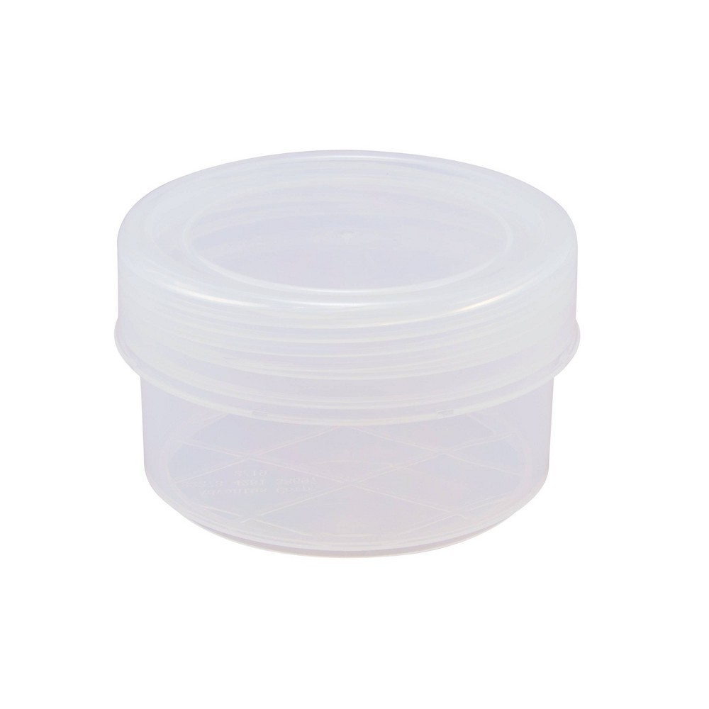Photo of Advantus Round Clear Desk Container