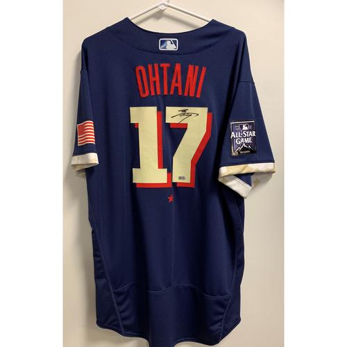 Shohei Ohtani 2021 Major League Baseball All-Star Game Autographed Jersey