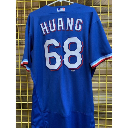 Photo of Wei-Chieh Huang Team-Issued 2020 Spring Training Jersey