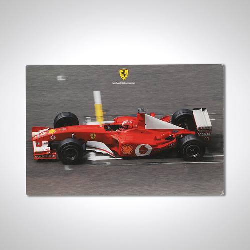 Photo of Official Ferrari 2002 Card