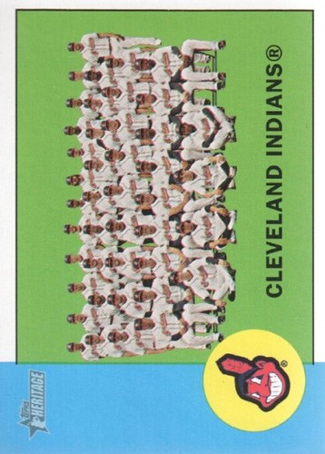Photo of 2012 Topps Heritage #239 Cleveland Indians TC