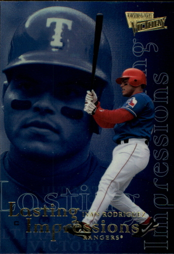 Photo of 2000 Ultimate Victory Lasting Impressions #L7 Ivan Rodriguez