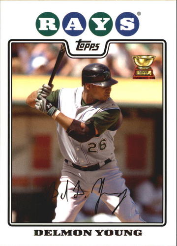 Photo of 2008 Topps #175 Delmon Young