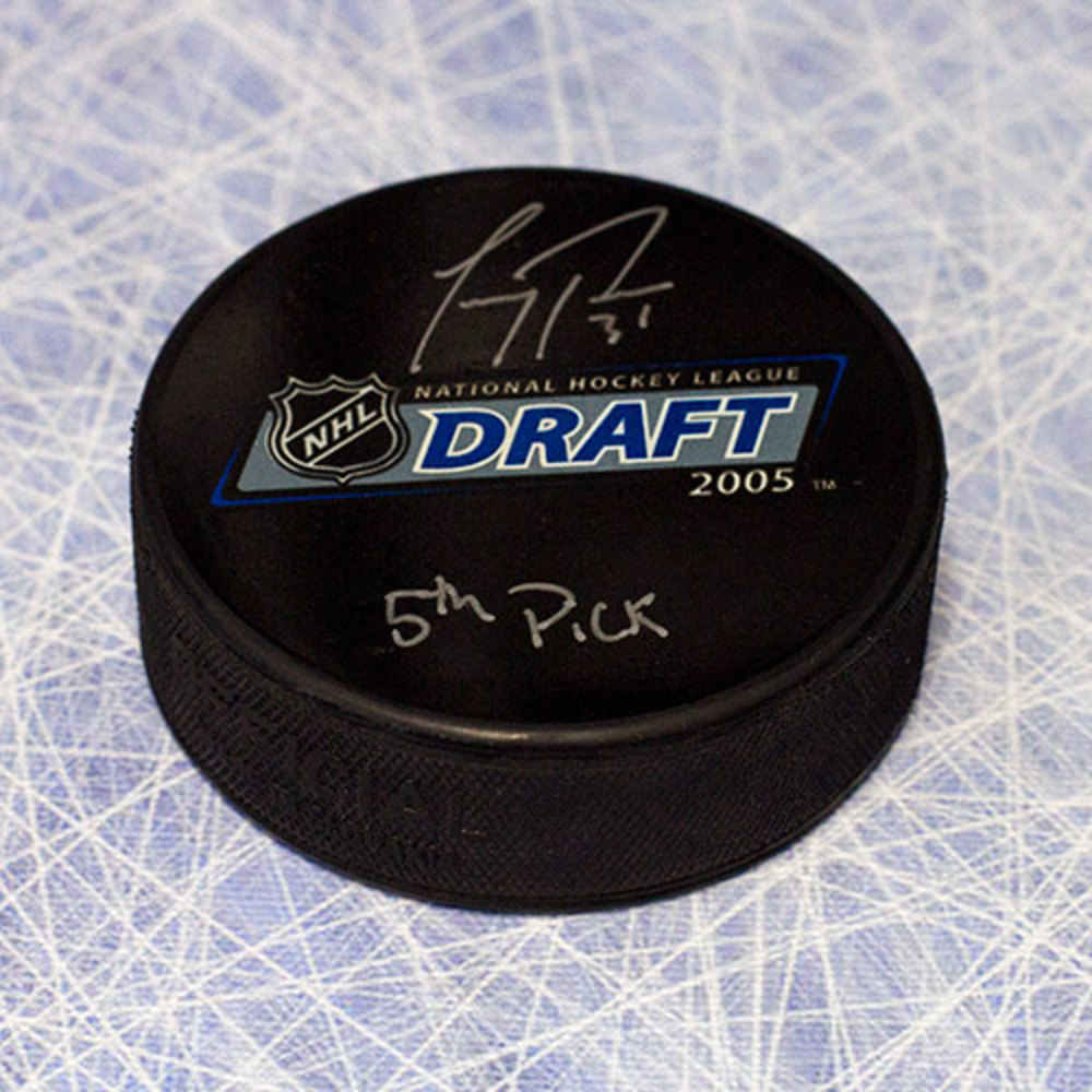 Carey Price Autographed 2005 NHL Draft Day Puck w 5th Pick