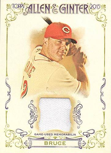 Photo of 2015 Topps Allen and Ginter Relics #FSRAJBR Jay Bruce A