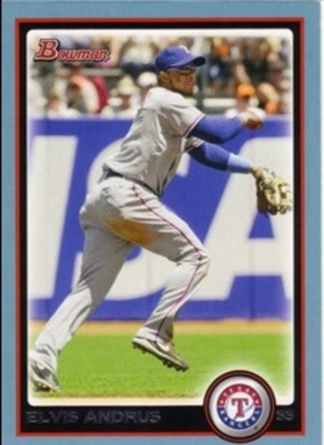 Photo of 2010 Bowman Blue #103 Elvis Andrus